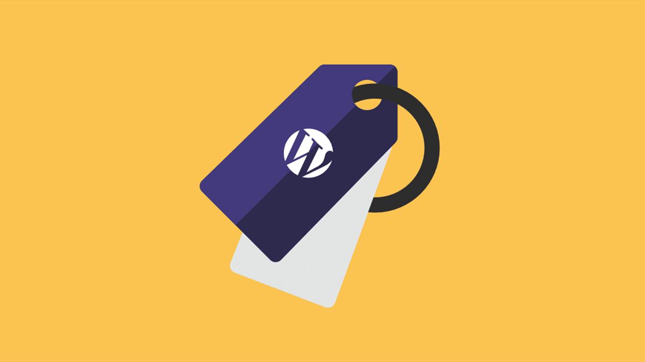WordPress tag