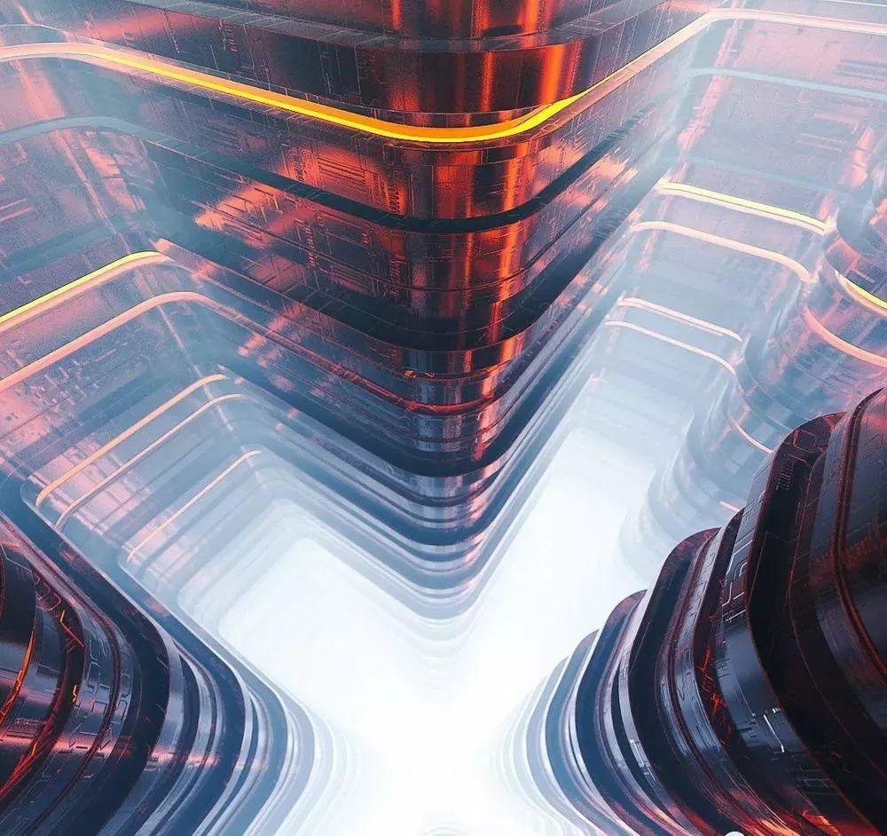 25组极品C4D高端模型,未来科技场景工程文件【534期】