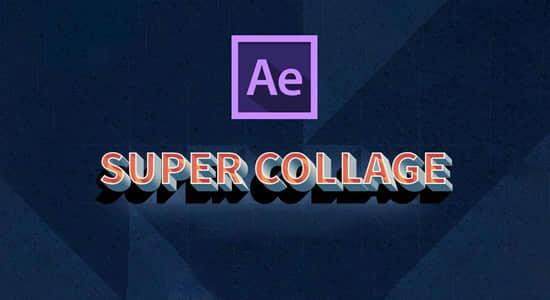 视频图像画面分割拼贴分屏插件 Super Collage v1.0.1 Win破解版+使用教程