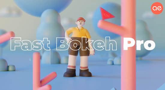 快速景深模糊插件专业版 Fast Bokeh Pro v1.4.2 Win中文汉化破解版