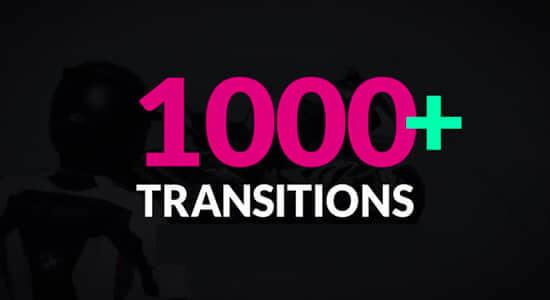 1000组多类别图形蒙版遮罩过渡转场动画高清视频素材