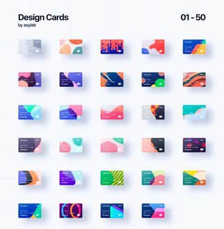 上百款神仙配色矢量卡片色卡合集!让你做设计不再烦恼!