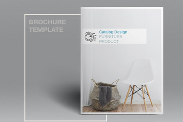 家具主题产品目录版式设计杂志风素材模板