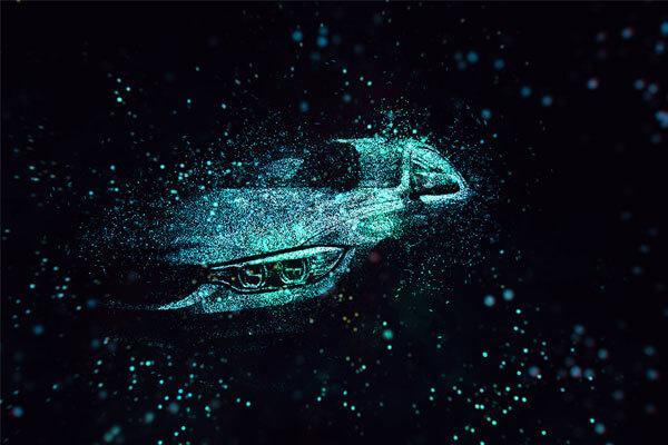 一键将照片转换为闪亮闪光粒子特效的PS动作