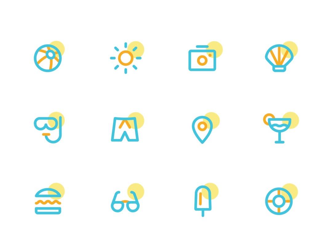 图标的辅助图形如何设计?我总结了这5条实用经验