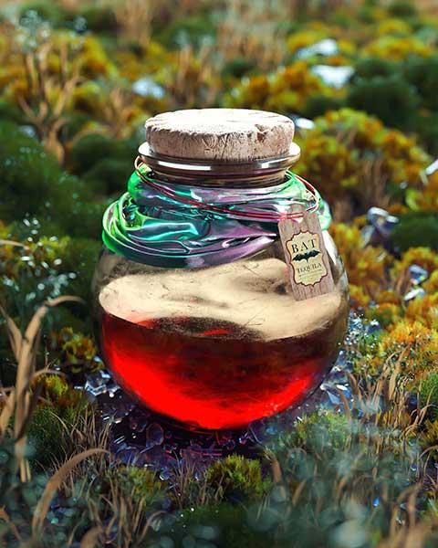龙舌兰酒模型酒瓶子工程科幻瓶子模型C4D素材