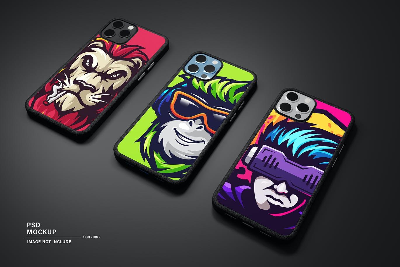 iPhone手机壳产品样机PSD素材