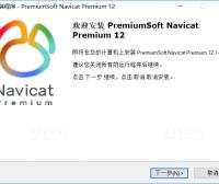 Navicat Premium 数据库连接软件 12.1.19 的安装和激活