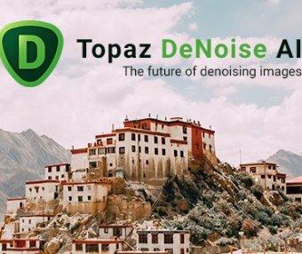 图片降噪去颗粒处理软件 Topaz DeNoise AI 2.1.4 Win最新破解版